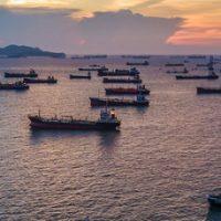 Previsiones_record_flota_mundial_GNL_exterior. Flota mundial