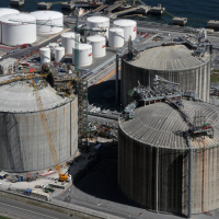almacenamiento, gas natural licuado