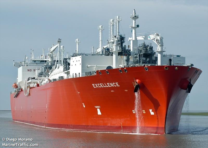Recarga de buques metaneros