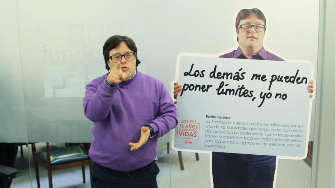 Pablo Pineda y el Proyecto Unidos.