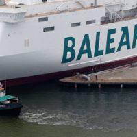 Baleària desarrollará en España los dos primeros barcos de alta velocidad con motor de GNL
