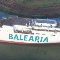 """""""Marie Curie"""", el segundo ferry de Baleària a GNL, avanza a buen ritmo"""
