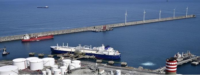 balance histórico de operaciones de descarga de buques 2019