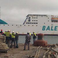 Baleària finalizará en breve la reconversión a gas del ferry Sicilia
