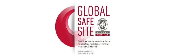 Certificado Global Safe Site