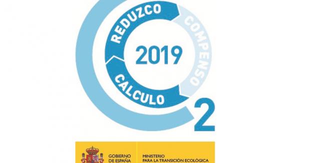 Bbg obtiene el sello calculo y reduzco para el periodo del 2019 del ministerio de transición ecológica